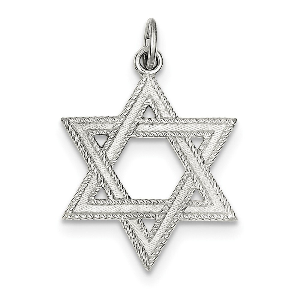 Jewelry Best Seller Sterling Silver Star of David Charm