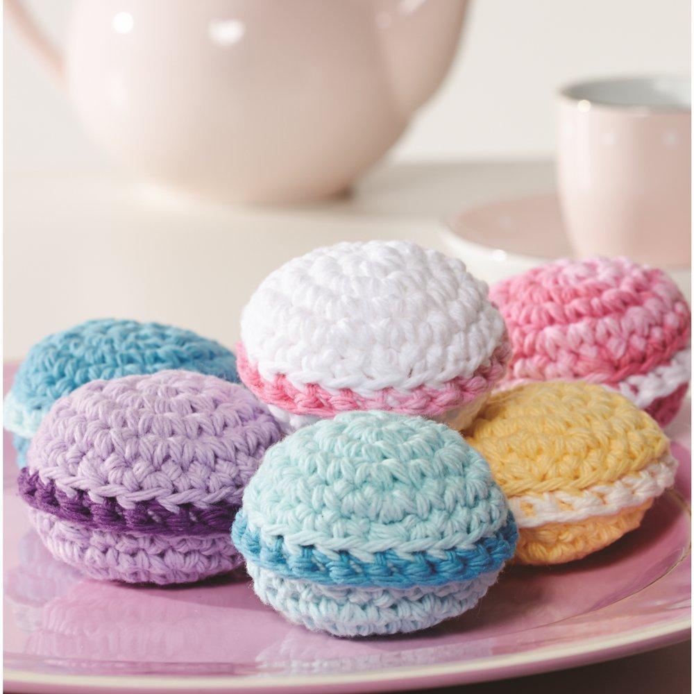4 Medium Gauge 100/% Cotton Lily Sugar N Cream  The Original Solid Yarn - 2.5 oz Overcast Machine Wash /& Dry