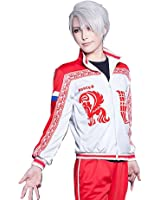 TOKYO-T Yuri on Ice Victor Nikiforov Costume Jacket Cosplay Halloween (US4-8)