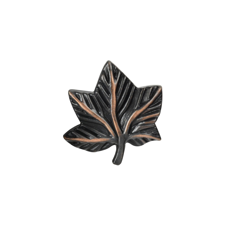 Knob Deals #2857 - Ivy Leaf Knob, Oil-Rubbed Bronze - 25 Pack