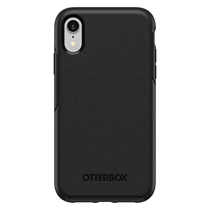 wholesale dealer 1ca97 bbb78 OtterBox Symmetry Series Case for iPhone XR (ONLY) - Black (Renewed)