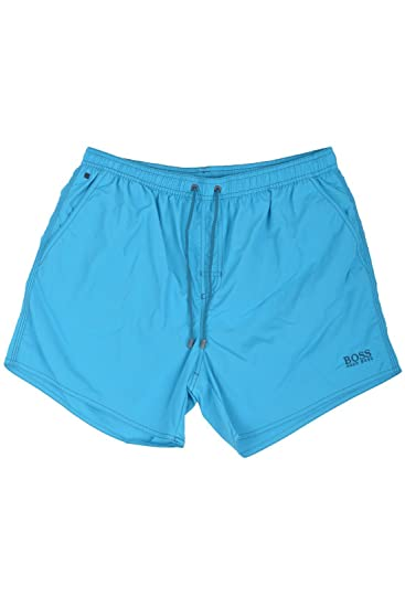1921dcb786caf BOSS Hugo Boss Lobster Swim Shorts S Turquoise: Amazon.co.uk: Clothing