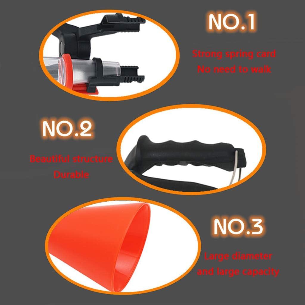 BIlinli Kit de Herramientas de vertido de vertido de Aceite del Motor del Embudo del cami/ón del Coche del Soporte Fijo Ajustable del ca/ño