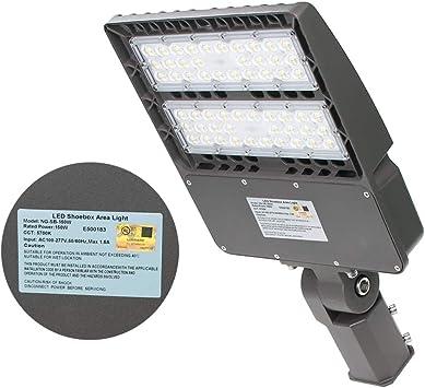 Outdoor Street Area Light Pole Fixtures UL 100w Metal Halide Parking Lot Lights
