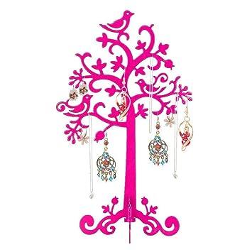 Yoeeku Bijoux Arbre Bracelet Porte Boucle D Oreille Alliage Support