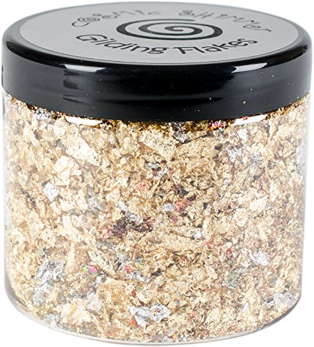 Creative Expressions CSGF-Egypt Cosmic Shimmer Gilding Flakes 200ml, Egyptian Gold