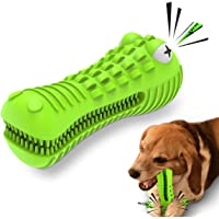Cutiful Dog Toys for Aggressive Chewers Large Medium Breed Dog Chew Toys Dog Toothbrush Nearly Indestructible Squeaky…