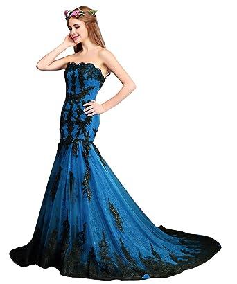 Amazon Vimans Womens Long Strapless Wedding Dress 2018 Mermaid