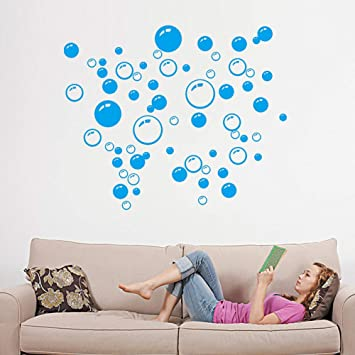 Amazon.com: Bubbles Circle Decals Wall Stickers,Elevin(TM ...