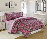 U.S. Polo Assn. 7-Piece Girly Paisley Bed in a Bag