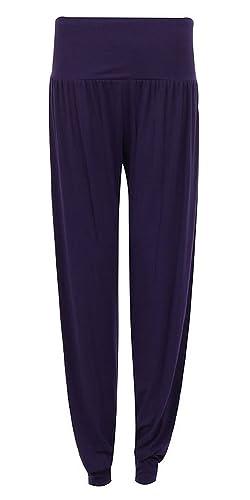 Friendz Trendz Mujer 3/4Ali Baba Pantalones Baggy Short Alibaba Harén Pantalones Verano de pantalones tamaño 8–22.