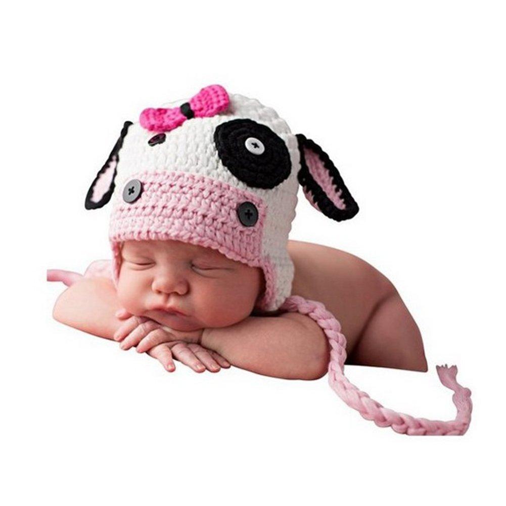 Recién Nacido Bebé Fotografía Accesorios Chico Niña Disfraz Trajes Linda Sombrero Binlunnu