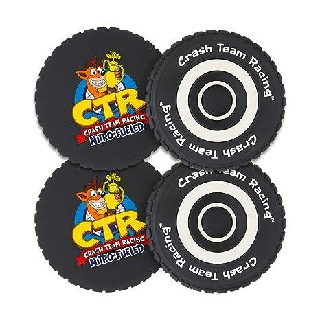 Crash Team Racing - Posavasos Ruedas: Amazon.es: Videojuegos