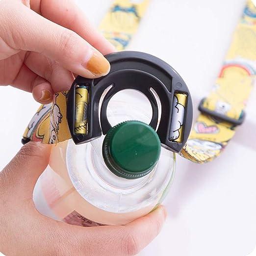 Portable Water Bottle Hanging Rope Shoulder Portable Strap Long Buckle Beverage