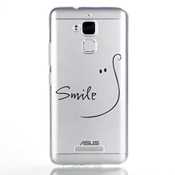 Mosoris Funda ASUS ZenFone 3 MAX ZC520TL Carcasa, Suave Transparente TPU Silicona Tapa Ultra Delgado Protectora Caso Anti-Aranazos Espalda Cubierta ...