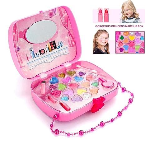 WooyMo pequeña Princesa de Hadas Maquillaje Lavable, Juego ...
