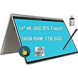 "Lenovo Yoga C940 Flagship 2 in 1 Laptop 14""4K UHD IPS Touchscreen Intel Quad-Core i7-1065G7 16GB DDR4 1TB SSD Webcam Pen Bac"