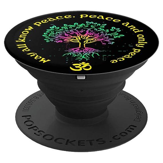 Amazon.com: Yoga prayer tree of life om prayer - PopSockets ...