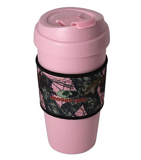 Amazon.com: Mossy Oak Bebida caliente mug- 16 oz Camo ...