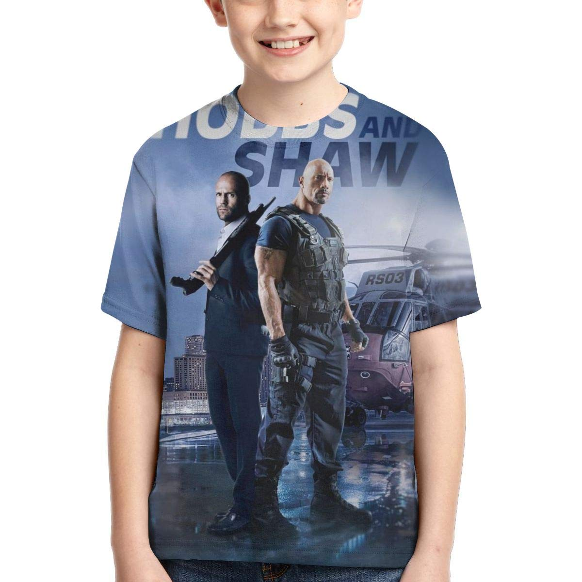 Lula Campbell Short Sleeves FA-st Fur-ious Youth and Childrens Round Neck Creative Print T-Shirt Unisex