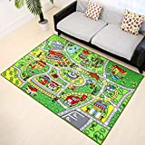 "HUAHOO 51"" x 75"" Children learning carpets Kids Rug kids play rug for Playroom Girl / Boy / Play Carpet / Bedroom / Playroom /carpet rugs for living room"