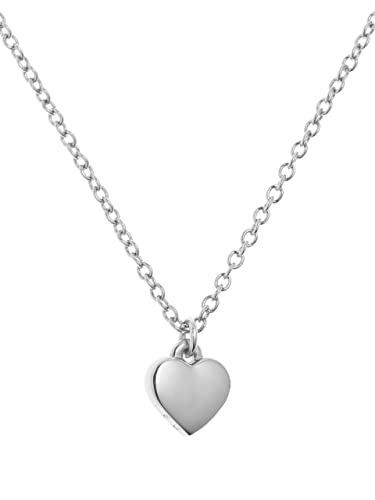 0f7440f4b Ted Baker Hara Tiny Heart Pendant Necklace, Silver: Amazon.co.uk: Jewellery