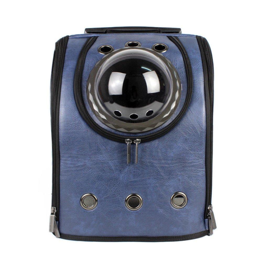 bluee32×26×42cm DESESHENME Pet Carrier Backpack Dog Cat Space Pet Travel Carrying Breathable Shoulder Backpack Outdoor Travel Portable Bag Pet Product,Pink32×26×42cm