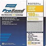 Norton 02617 3X Handy Aluminum-Oxide Sandpaper 180 Grit, 9-Inch x 11-Inch, 3-Pack