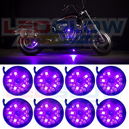 8pc motorcycle led lights - 3
