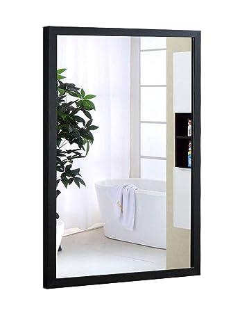 Amazoncom Aluminum Bathroom Mirror Modern Minimalist Bathroom