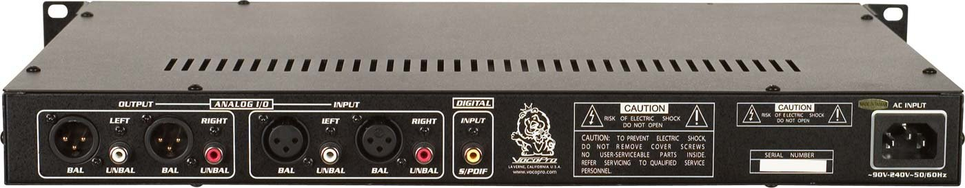 VocoPro CDR-1000 Pro Professional Single Space CD Recorder/ Player by VocoPro (Image #1)
