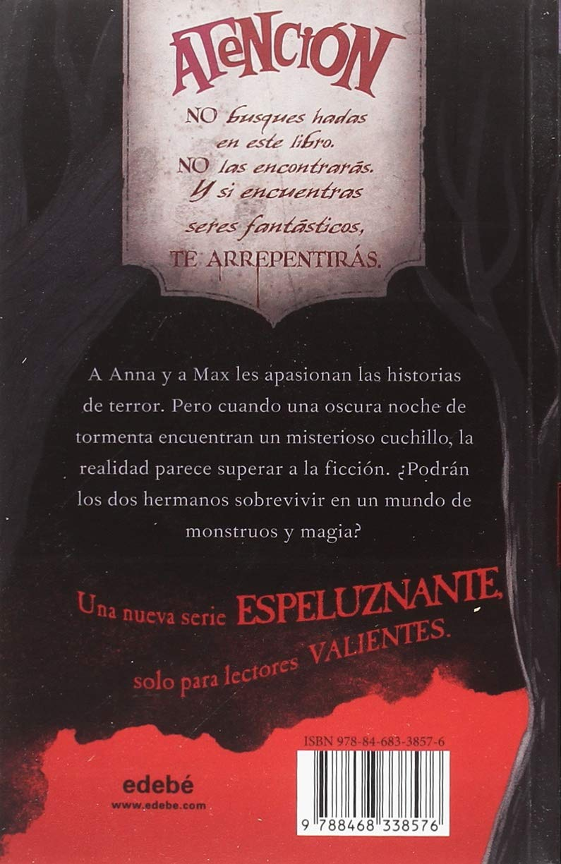 LA HORA DE LAS BRUJAS: El cuchillo y el vampiro: Amazon.es ...