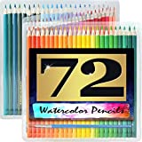 Artist's Choice 72 Pack Watercolor Pencils with Paintbrush