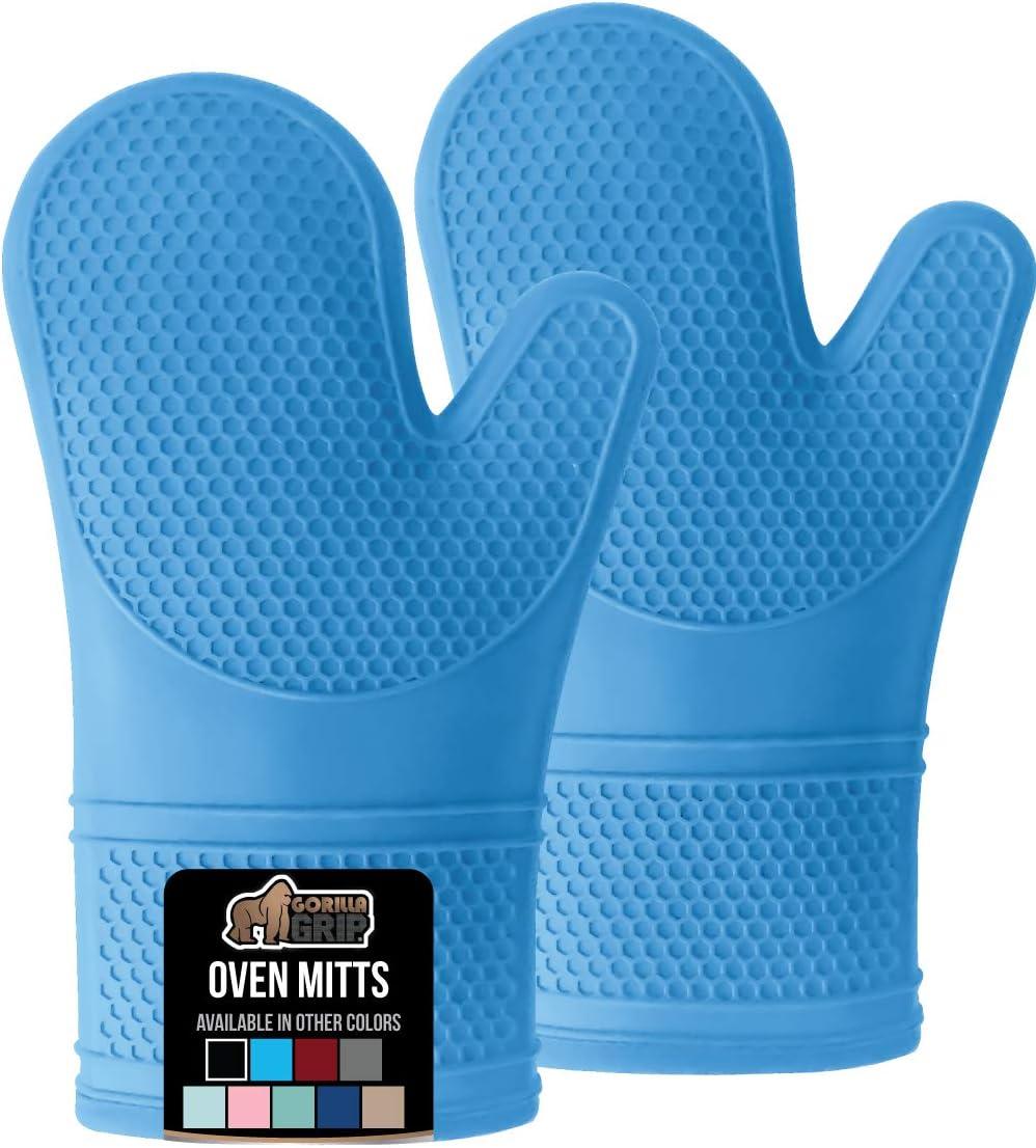Kitchen Glove Oven Mitt Glove Silicone Oven Mitt Heat Protection