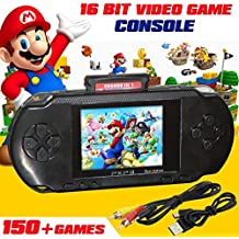 US STOCK PXP3 Game Console Handheld Portable 16 Bit Retro Video 150 + Games Gift