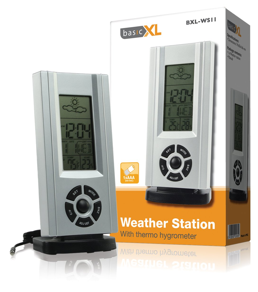 basicXL Weather station with thermo hygrometer [BXL-WS11]