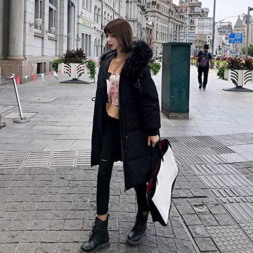 Per Donna Piumino Giacca Bianca Taglie Da colore Donna Nero Qiusa 3xl Forti Dimensione Invernale Capispalla nqzwgZdtx