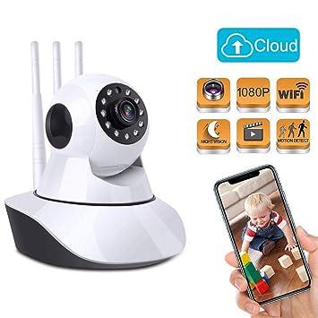 Amazon.com: Cámara de seguridad inalámbrica para el hogar ...