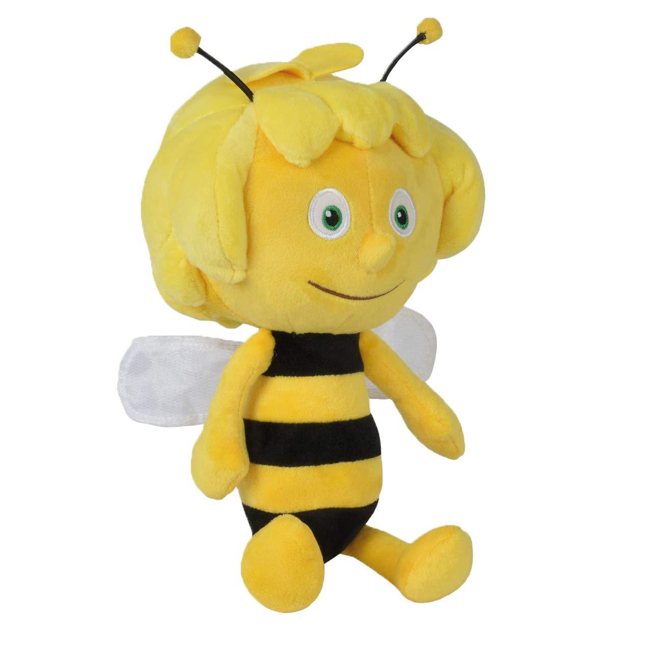 Simba 109341002 - Biene Maja Plüschfigur, 30 cm, gelb Simba Toys Non Books Non Books / Stofftiere