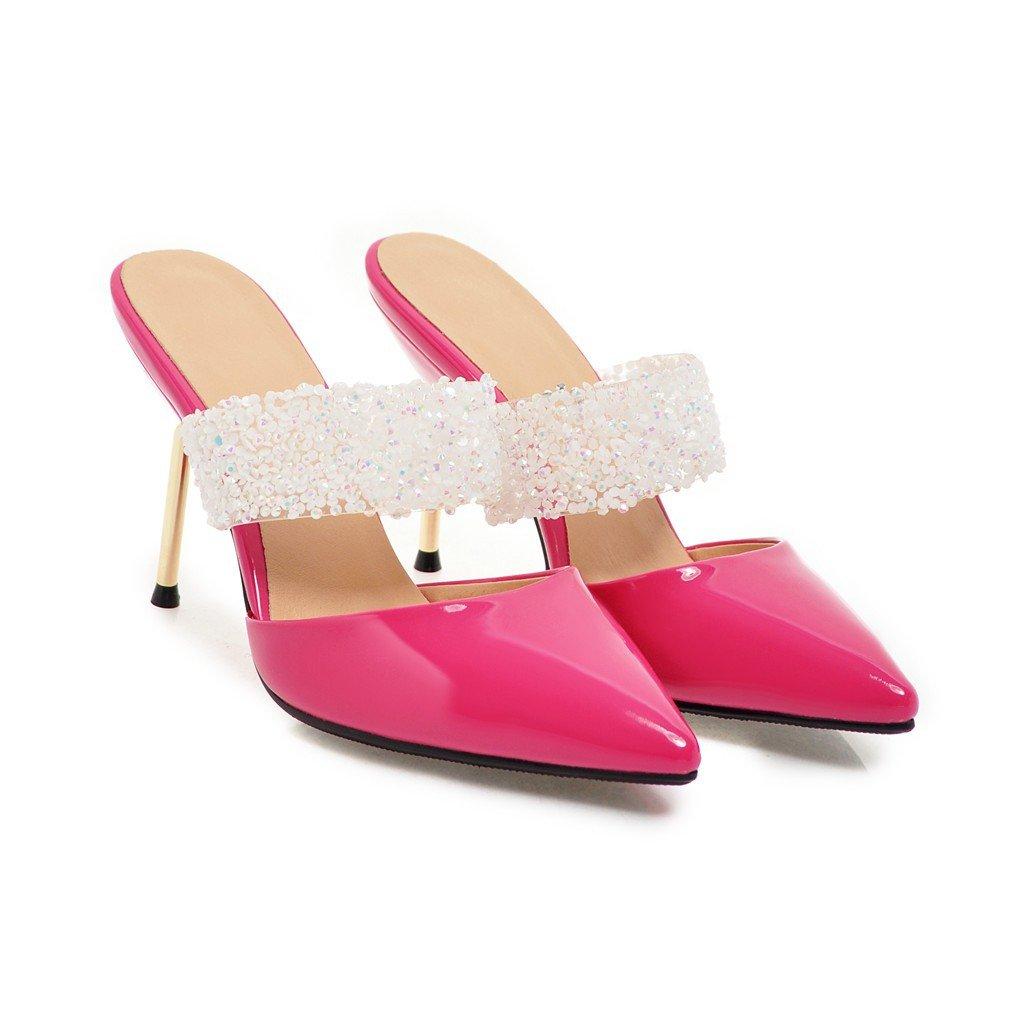 Peach rouge QIN&X Chaussures Femmes Sandales Talons 35 EU