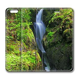 Aira Force Falls Glenridding Lake District Uk iPhone 6 Plus 5.5inch Leather Case, Personalized Protective Slim Fit Skin Cover For Iphone 6 Plus [Stand Feature] Flip Case Cover for New iPhone 6 Plus by Maris's Diary