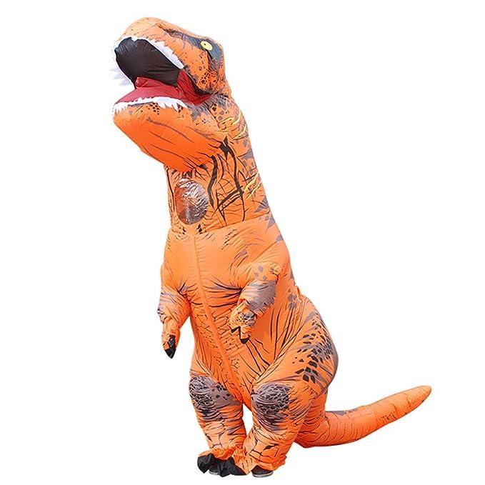 Triseaman Adulto de Halloween Ropa T-Rex Tyrannosaurus Hinchable ...