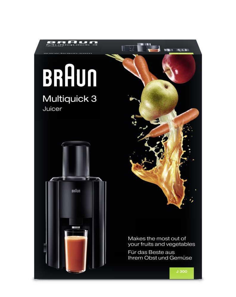 Reconditionn/é Braun 81300159 Braun Multiquick Juicer Centrifugeuse J300 800 W
