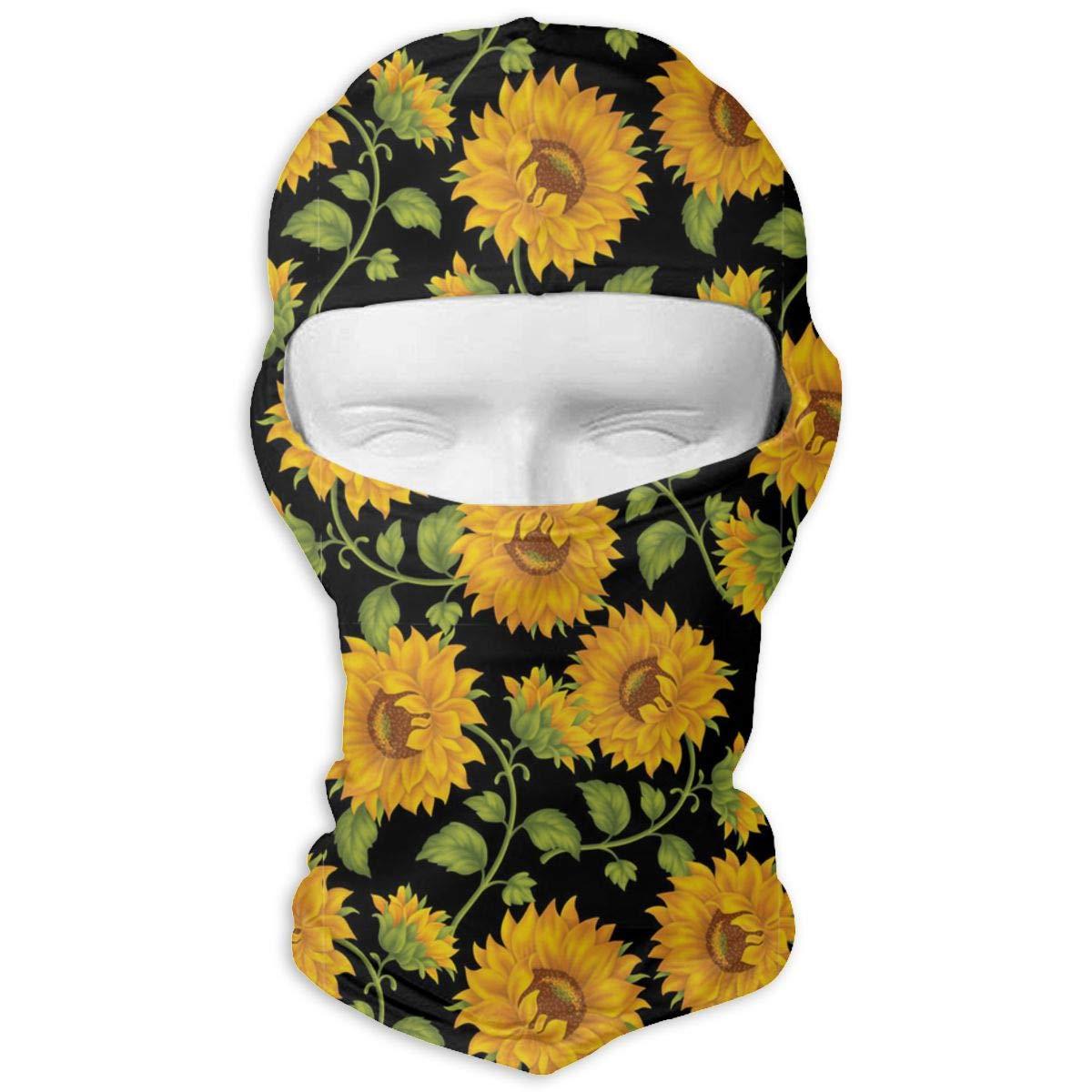 Wind-Resistant Face Mask LaoJi Romantic Sunflowers Winter Ski Mask Balaclava Hood