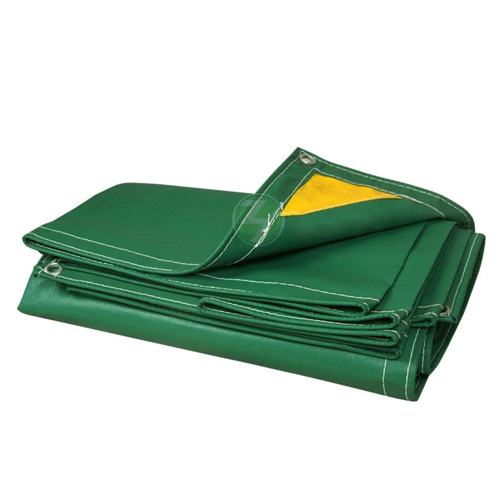 MEIDUO ターポリン ヘビーデューティ厚い材料ターポリンPVC防火布防水防水防水日保護 for outdoor (色 : A, サイズ さいず : 4mx10m) B07FFP1VB5 A 4mx10m
