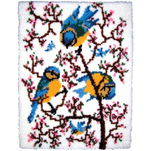 Textiles 27 Inch 33 Inch Springtime Bluebirds
