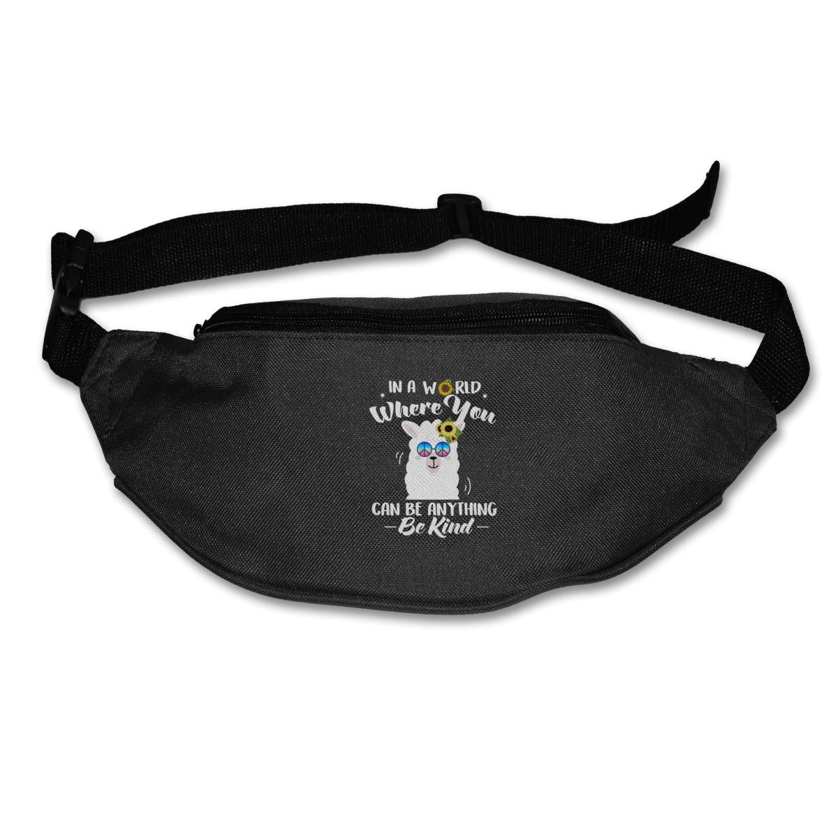 In A World Where You Can Be Anything Be Kind Waist Pack Fanny Pack Adjustable