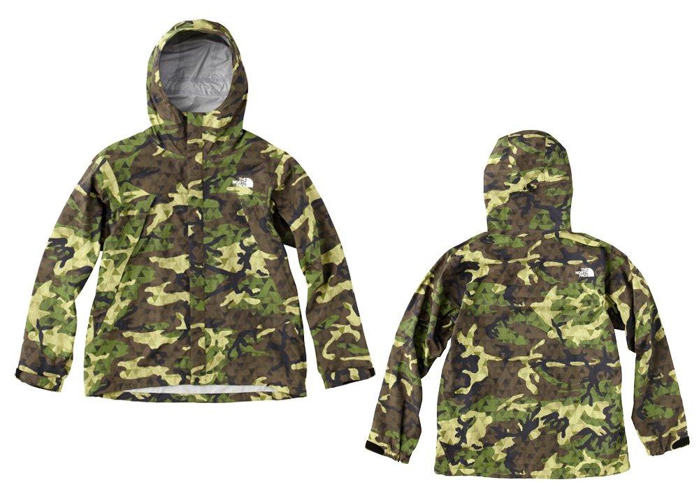 ノースフェイス(THE NORTH FACE) ノベルティ ドットショットジャケット NOVELTY DOT SHOT JACKET GC/ジオデシックカモ NP61535