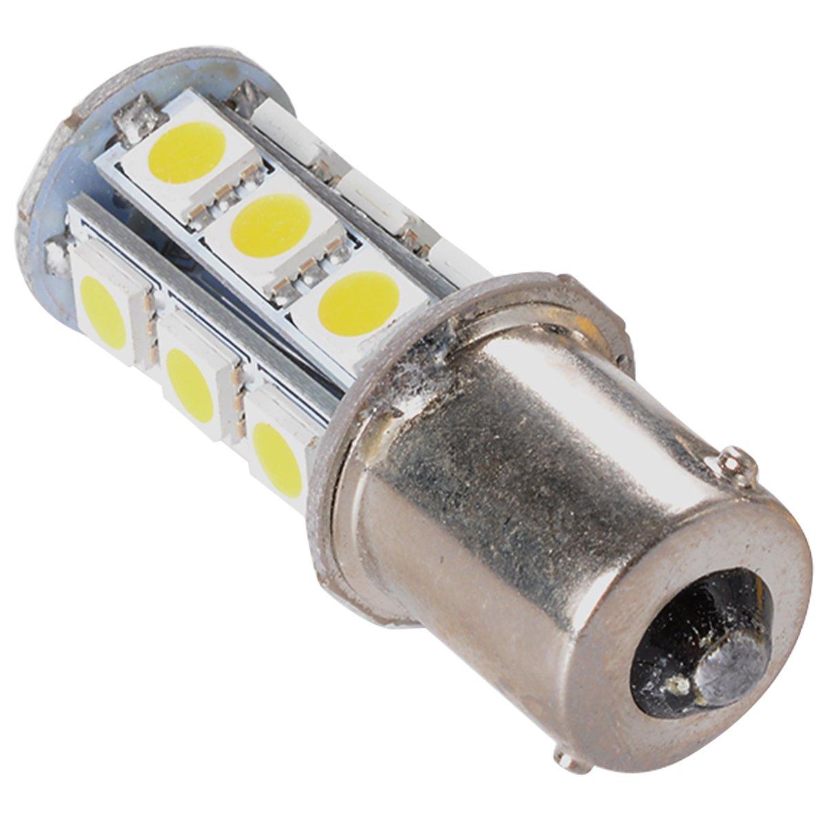 Amazon.com: XCSOURCE 10PCS Warm White 1156 BA15S/1141/1073/1095 Base 18 SMD  5050 LED Replacement Bulb For RV Camper SUV MPV Car Turn Tail Signal Brake  ...