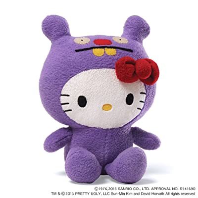 Hello Kitty Ugly Doll Trunko - 7 in Plush: Toys & Games